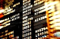 Flughafenszenenhintergrund Stockfotos