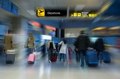 Flughafenterminal Lizenzfreie Stockbilder