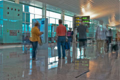Flughafenterminal Stockfotos