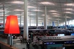 Flughafenterminalgebäude Stockfotos