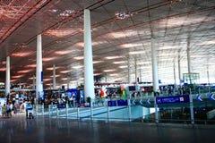 Flughafenterminalgebäude Stockfoto
