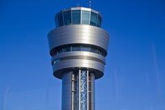 Flughafenturm Stockfoto