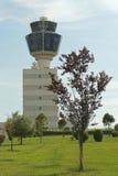 Flughafenturm Stockbild