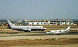 Flughafenverkehr Stockbild
