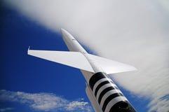 Flugkörper lizenzfreie stockfotos