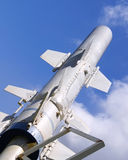 Flugkörper am Pearl Harbor Lizenzfreies Stockfoto