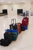 Fluglinien-Gepäck Stockbild