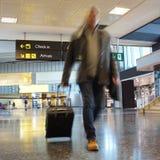 Fluglinien-Passagier lizenzfreie stockbilder