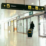 Fluglinien-Passagier lizenzfreies stockbild