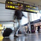 Fluglinien-Passagiere Lizenzfreies Stockbild