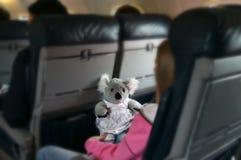 Fluglinien-Reise Stockbilder