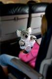 Fluglinien-Reise Stockfoto