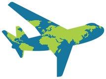 Fluglinienzeichen Stockfotos