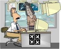 Fluglotsen Lizenzfreie Stockfotos