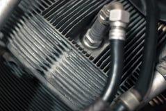 Flugmotorzylinderfragment lizenzfreie stockfotos