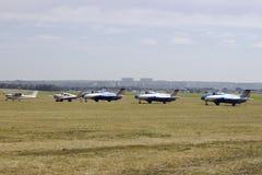 Flugplatz Korotich Airshow stockfotografie