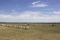 Flugplatz Korotich Airshow lizenzfreie stockfotos
