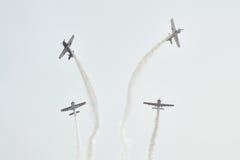 Flugschau in Ahmedabad, Indien Lizenzfreies Stockbild