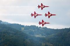 Flugschau der Luftmacht 2011 in Zeltweg, Österreich Lizenzfreie Stockfotos