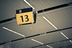 Flugsteig 13 Stockbilder