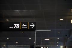 Flugsteig 78 Lizenzfreie Stockbilder