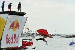 FLUGTAG COMPETITION IN ISTANBUL Stock Image