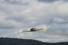 Flugtag am 11. Mai 2014 bei Kjeller (airshow) Stockfotos