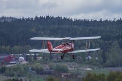Flugtag am 11. Mai 2014 bei Kjeller (airshow) Lizenzfreie Stockfotos