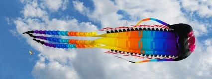 Flugwesen-Drachen stockfotos