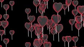 Flugwesen Hinauftreiben von Aktienkursen in der Form eines Inneren Romantischer Hintergrund für Valentinsgruß ` s Tag Wiedergabe  vektor abbildung