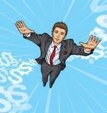 Flugwesen Suitman Lizenzfreie Stockbilder