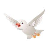 Flugwesen-Vogel Lizenzfreies Stockfoto