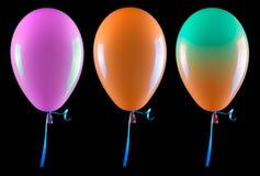 Flugwesenballone trennten Stockfotografie