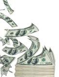 Flugwesenbargeld lizenzfreies stockfoto