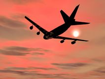 Flugwesenflugzeug Stockbilder