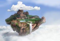 Flugweseninsel Lizenzfreies Stockbild