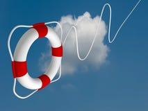 FlugwesenSchwimmweste für erste Hilfe Lizenzfreies Stockfoto