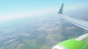 Flugzeug stock video