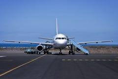 Flugzeug. stockfoto
