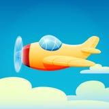Flugzeug vektor abbildung