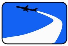 Flugzeug lizenzfreie abbildung