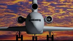 Flugzeug A Stockbild