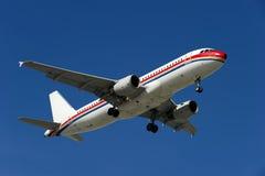 Flugzeug AIRBUS-A320-200 Stockfoto