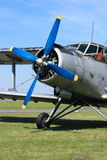 Flugzeug Antonov 2 Lizenzfreies Stockbild
