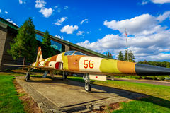 Flugzeug-Ausstellung Lizenzfreies Stockfoto