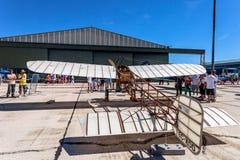 Flugzeug Blériot XI Lizenzfreies Stockbild