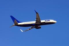 Flugzeug Boeing-737-800. Stockbild