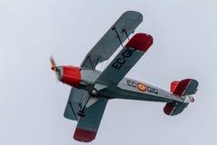 Flugzeug CASA Bucker 1 131E Jungmann lizenzfreie stockbilder