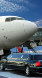 Flugzeug, das für Abflug sich vorbereitet Stockbilder
