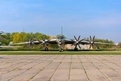 Flugzeug des Tupolevs Tu-142 lizenzfreie stockbilder